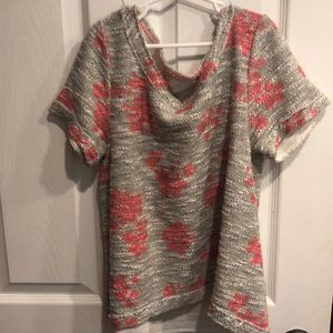 Cropped Anthropologie top